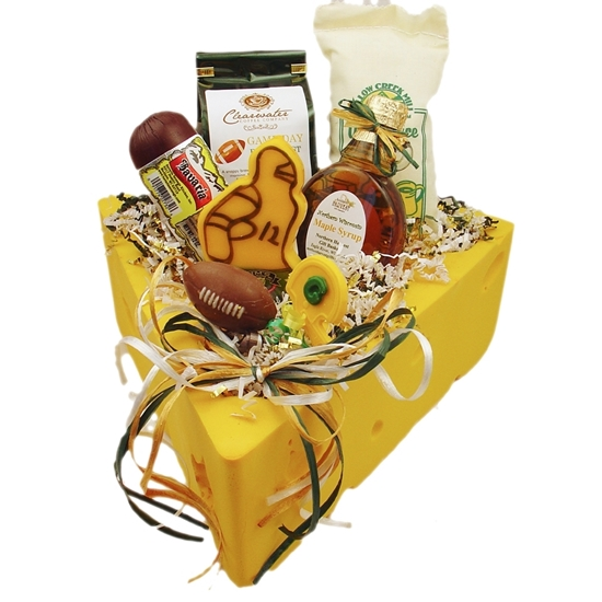 Green Bay Packer Gifts Cheese Sausage Chocolates Gourmet Coffee. All made in the great state of Wisconsin.  sc 1 st  Northern Harvest Gift Baskets & Wisconsin Football Gift Baskets - Northern Harvest Gift Baskets